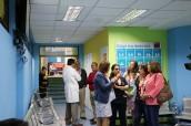 Visitan Mejoras en Salas de Espera de Urgencias del Hospital Fricke SSVQ