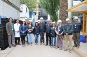 Multigremial del Servicio de Salud Viña del Mar Quillota visitó obras del nuevo Hospital Dr. Gustavo Fricke