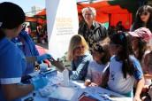 Usuarios de la Feria Libre Marga Marga controlaron su glicemia con el Hospital Dr. Gustavo Fricke en el Día Mundial de la Diabetes