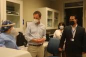 Subsecretario de Redes Asistenciales Arturo Zúñiga destaca avance del nuevo Hospital Dr. Gustavo Fricke
