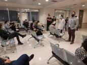 Se realizó vacunación a funcionarios y funcionarias de Unidades Críticas de Hospitales de Alta Complejidad de la red SSVQ